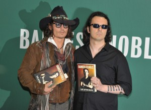 Johnny Depp with Echols