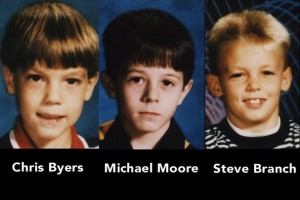 The three murdered boys